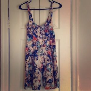 Floral Sun dress Size 8 From Australia